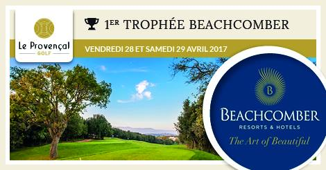 Trophée Beachcomber : Save the date !