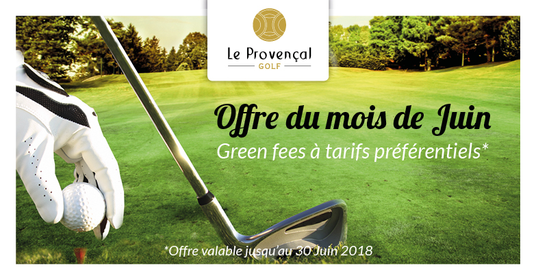 Offre Green Fees Juin 2018